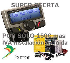 Oferta especial de Parrot 3100 LCD 150 euros mas iva instalación incluida